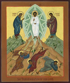 Icon of the Dormition of the Most Holy Theotokos by Robin Armstrong